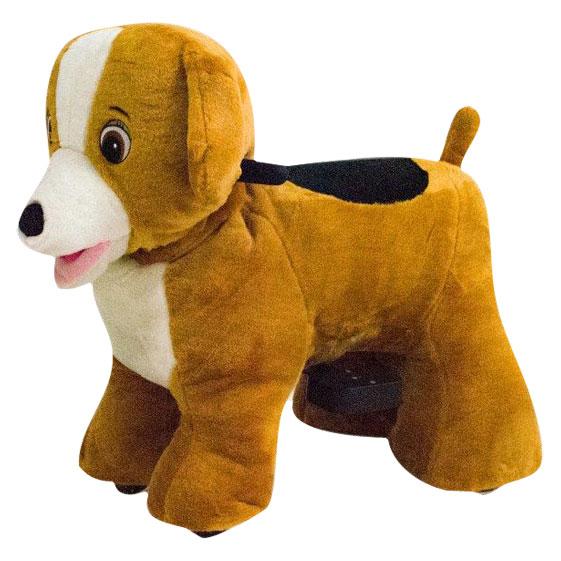 Cachorro Pelúcia Motorizada