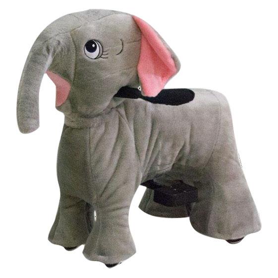 Elefante Pelúcia Motorizada